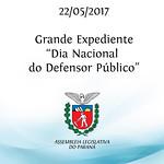 Comemoração do Dia Nacional do Defensor Público 22/05/2017