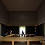 In the ZEN House of D.T.Suzuki Museum (鈴木大拙館)