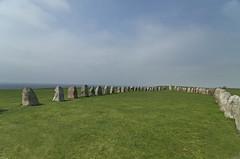 Ales Stones (Agge92) Tags: ales stenar stones österlen osterlen skåne sweden sverige nikon d7000 summer ystad kåseberga