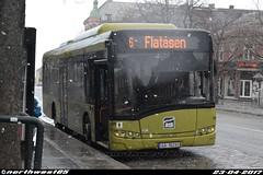 455 (northwest85) Tags: atb ga 10295 455 solaris alpino 89 le 6 flatåsen munkegata trondheim norway buss bus norge ga10295