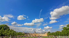 KARLSRUHE (01dgn) Tags: karlsruherschlos karlsruhe badenwürttemberg almanya germany deutschland sky clouds panorama travel castle
