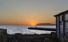 Sunset (antonino.abbruzzo) Tags: boat sea trapani sunset