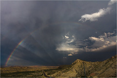Yet Another Rainbow (AnEyeForTexas) Tags: rainbow chihuahuandesert creativecommons weather weatherphotography bigbendarea