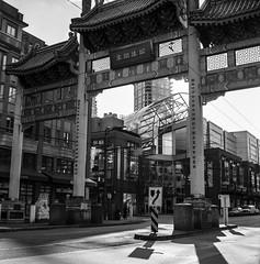 (glauberpitfall) Tags: filmphotography yashicamat124g yashinon80mm kodat 400tx blackandwhite monochrome street streetphotpgraphy vancouver bc canada