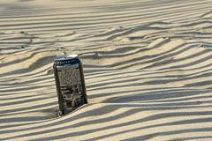 Monster Energy on the beach (Jan van der Wolf) Tags: map156311v can blik beach shadow shadowplay stripes sand zand dof depthoffield scherptediepte strand bierblik energydrink monsterenergy
