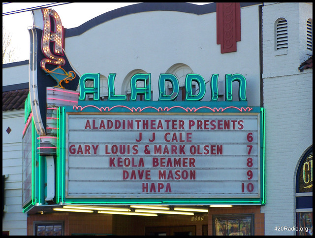 JJ Cale - Aladdin Theater - Portland, Oregon - 04/06/09