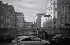 Canal - St. Petersburg,  Russia. (frontdrive34) Tags: olympus olympustrip35 film fujifilm fujifilmacros100 russia stpetersburg