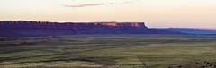 long mesa (J. A. Branch) Tags: panorama az arizona mesa desert sunset