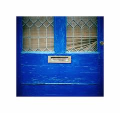 bLuE (CJS*64) Tags: yorkshire westyorshire hebden hebdenbridge dayout daytripper england unitedkingdom nikon nikkorlens nikkor nikond7000 dslr d7000 18mm105mmlens cjs64 craigsunter cjs colour colours doors blue letterbox