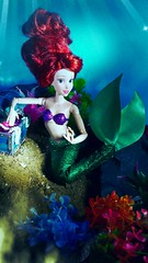 Under the Sea (custombase) Tags: disney little mermaid ariel classics doll madetomovebody