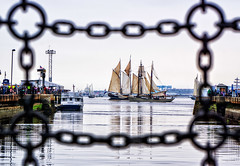 Tall Ship (mgstanton) Tags: tallships boston boat ships water sailboston2017 sailbostonbostonharbor paradeofships framing charlestown