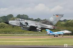 Luftwaffe Tornado ECR 46+50 (philrdjones) Tags: 2016 4650 airtattoo departures ecr egva ffd fairford germanairforce july luftwaffe panavia riat royalinternationalairtattoo tornado