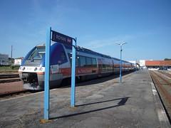 B 81748 (marsupilami92) Tags: frankreich france nouvelleaquitaine sudouest poitoucharentes 17 charentemaritime royan gare sncf terpoitoucharentes train