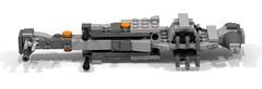 LEGO Star Wars Mini B-Wing Starfighter (Cpt. Ammogeddon) Tags: star wars lego war moc costum play mini b wing foil fighter grey black rebel sky space combat toy spielzeug