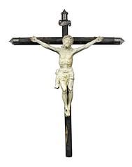 Ivory Crucifix (Leo Cloma) Tags: philippines art antiques furniture leon gallery auction makati cloma