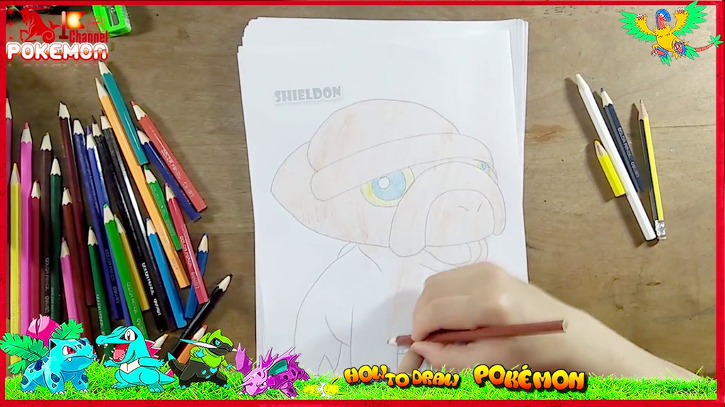 Learn Colors For Children Kids Toddlers Cute Pokemon Learning Video Compilation Drawings Quynhducle19852017