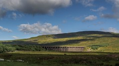 Morning At Ribblehead.. (johngregory250666) Tags: uk rural nature british countryside camera lens green yellow orange stone nikon nikkor hiking walking lines clouds sky blue moss lichen out brook glow grass imagesofengland amazing sunlight water light sun outdoor grassland field landscape hill trees plant serene moors ridge great national park mountain moor moorland dale new d5200 rock formation rays edge heather tor world pass outside cloud temperature view peak district long england north overcast path flickr bright yorkshire dales viaduct ribblehead