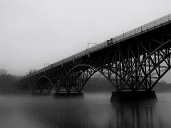 east falls  bridge (2016) (Thrift Store Camera) Tags: philadelphia philly street photographer photo journal eastfallsbridge westriverdrive