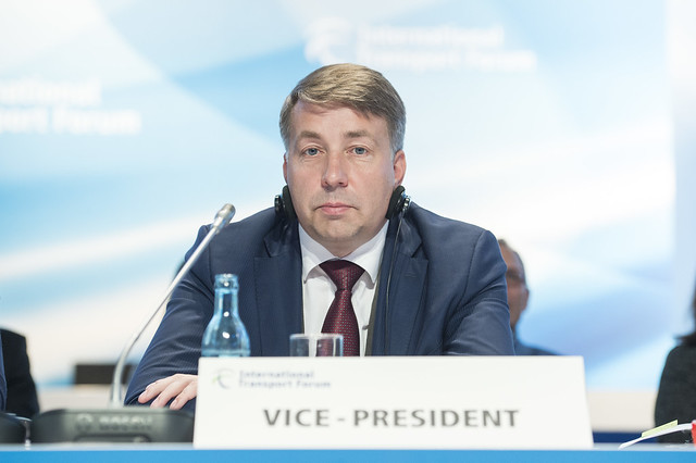 Minister Uldis Augulis at the Closed Ministerial