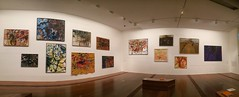 John Olsen You Beaut Country exhibition (Figgles1) Tags: img2819 iphone panorama melbourne victoria johnolsen youbeautcountry you beaut country art painting ngv australia ngvaustralia nationalgalleryofvictoria national gallery exhibition exhibitions theyoubeautcountry paintings