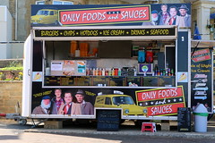 Only Foods and Sauces (Crisp-13) Tags: sandown isle wight seaside take away burger van only fools horses foods sauces seafront derek del boy trotter rodney grandad uncle albert lovely jubbly cushty