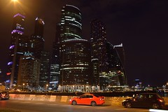 """Moscow International Business Center """"Moscow City"""" (あらいぐまラスカル) Tags: moscow international business center city モスクワ国際ビジネスセンター モスクワ シティ москва сити tokina 2870 287028 atx 270 af pro2 2870mm f28 atx270afpro2 tokinaaf2870mmf28"""