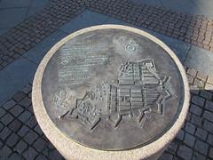 Plaque with model of the city, Gustav Adolfs torg, Gothenburg, Sweden (Paul McClure DC) Tags: gothenburg sweden sverige july2015 göteborg historic sculpture