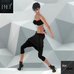 PREY - Noir (The Yin/Yang Event) (catsrage17) Tags: prey kc kastlerockcouture nn exile maitreya lelutka mayfly alma glamaffair theyinyangevent