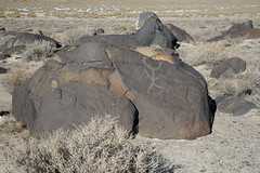 Petorglyph at Grimes point in NV-11 10-24-13 (lamsongf) Tags: rockart petroglyph nativeamerican americanindian nevada grimespoint
