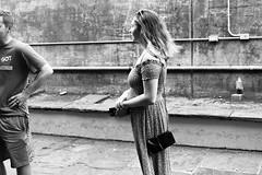 Holding Her Spot (minus6 (tuan)) Tags: minus6 leicamonochrom summilux 50mm frenchquarter neworleans