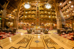 Wilderness Lodge (jordanhall81) Tags: wilderness lodge resort hotel lobby national park americana nature cabin dvc vacation club membership owner walt disney world wdw orlando florida architecture totem pole native american indian rokinon fisheye 8mm