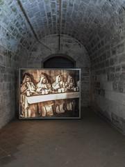 036-Monasterio de Valbuena ((π)) Tags: spain northernspain valladolid duero monasteriodevalbuena valbuena cistercian monastery frescoes church sonya7rii sony iphone6plus valbuenaabbey 2016 valbuenadeduero romanesque 13thcentury renaissance gothic mural baroque cloister cistercians order