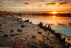 Wigg Islamd (2 of 10) (andyyoung37) Tags: merseyflatbargewrecks runcorn runcornbridge uk wiggisland cheshire rivermersey sunset
