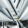 Dominion Tower (liseykina) Tags: moscow architecture dominion tower business centre interior