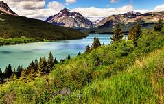 Glacier National Park, Montana, USA (klauslang99) Tags: klauslang glacier national park montana landscapes lake mountains