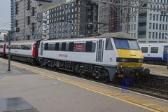 90005 1P16 Liverpool Street to Norwich (hetsc68) Tags: 2017 may 27052017 london england stratford railways trains aga abelliogreateranglia class90 90005
