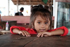 A little cute Cambodian girl in Sihanoukville, cambodia (adamba100) Tags: asia asian china chinese korea korean mongolia mongolian vietnam vietnamese thai beijing town city view landscape cityscape street life lifestyle style people human person man men woman women male female girl boy child children kid interesting portrait innocent cute charm pretty beauty beautiful innocence face headshot pure purity tourism sightseeing tourist travel trip light color colour outdoor traditional cambodia cambodian phnom penh sony a6300 18105 siem reap pattaya bangkok architecture ancient
