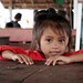 A little cute Cambodian girl in Sihanoukville, cambodia