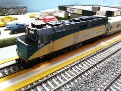 VIA F40PH-2D 6403 (Trains By Perry) Tags: hoscale ho hotrak may2017 via viarailcanada f40ph2d rebuild