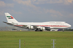 A6-COM Boeing B747-433M UAE Amiri Flight Stansted 20th July 2016 (michael_hibbins) Tags: