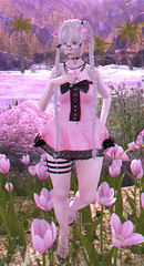 Hana (Rokky - Owner of Rockadile) Tags: pastel goth second life advertise blogging blogger poser posing