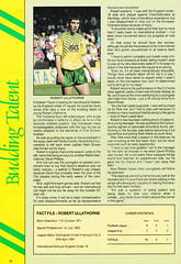 Norwich City vs Luton Town - 1991 - Page 18 (The Sky Strikers) Tags: norwich city luton town barclays league division one carrow road official matchday programme pound twenty