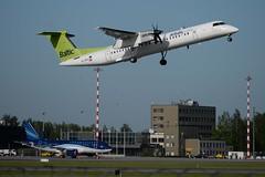 RIGA RIX (sauliusjulius) Tags: ylbai de havilland canada dhc8402 dash 8 dh8d 502c6b bti bt air baltic rix evra riga latvia4k8888 boeing 727251wl b722 600bf0 esw business aviation azerbaijan latvia