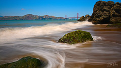 From Whence We Came. (scottducey209) Tags: seascape waterscape pacificocean bayarea sanfrancisco california northerncalifornia rocks water surf sand waves longexposure daytimelongexposure coast coastline sanfranciscobayarea sanfranciscobay cove mountains tokina nikon vanguard 1116mm ultrawide blueskies goldengate goldengatebridge iconic bridge sea pacific 16mm cave beautifulday sf citybythebay goldengaterecreationarea californiacoast landscape headlands channel