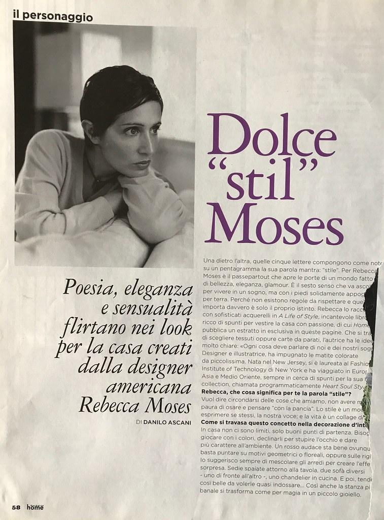 Designer, Rebecca Moses
