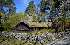 Stockholm in May. Djurgården. Skansen (L.Lahtinen (nature photography)) Tags: spring landscape stockholm skansen djurgården hornborgacottage sweden hornborgastugan house history historic old cottage maisema tukholma travel trip tourism bluesky naturephotography architecture nikond3200