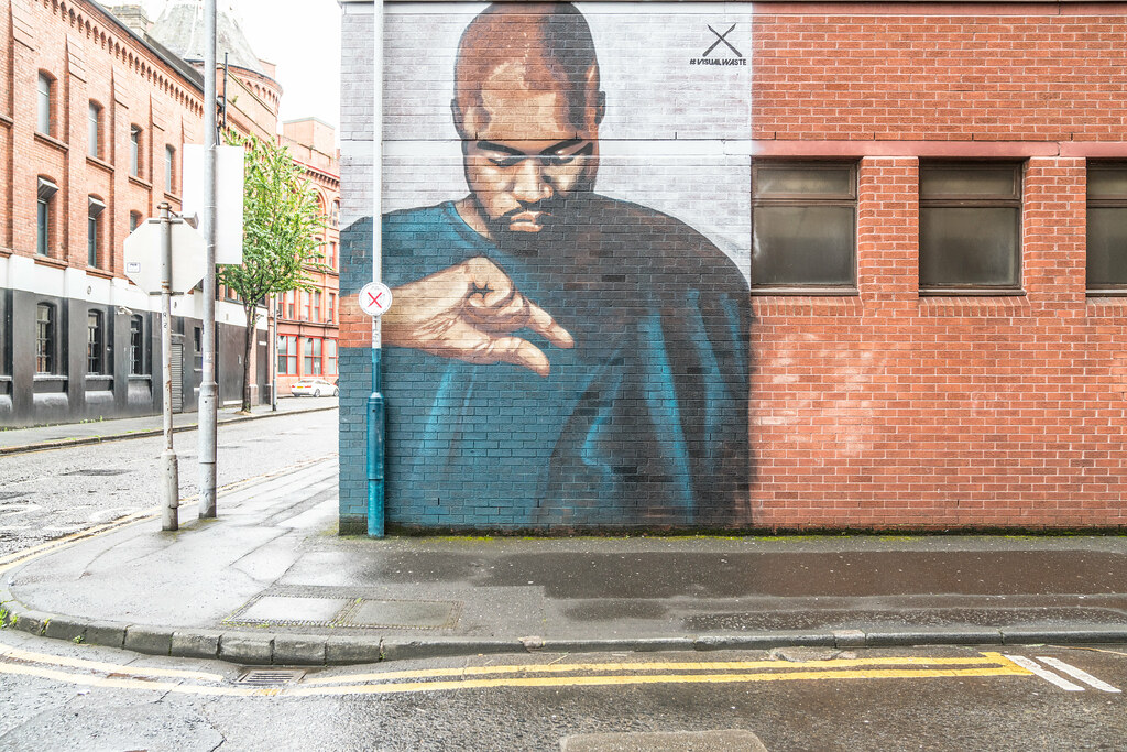 STREET ART AND GRAFFITI IN BELFAST [ANYTHING BUT THE FAMOUS MURALS]-129136
