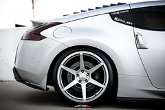 Nissan 370z w/ Ace Alloy Flowform Series AFF06 (ACEALLOYWHEEL/AMF FORGED) Tags: ace acealloy acealloywheel acewheels aff06 flowform nissan 370z z34 nismo vq zociety flow form light weight wheels aftermarket acealloywheels import jdm jdmgram