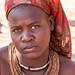 Himba woman with headscarf