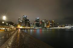 Sydney Skyline (lfeng1014) Tags: sydneyskyline australia sydney skyline harbourfront sydneyharbour nightshot longexposure 30seconds lighttrails building water canon5dmarkiii ef1635mmf28liiusm travel lifeng circularquay